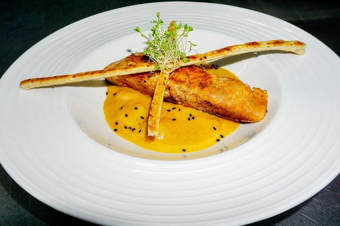 Pečený losos ako z reštaurácie